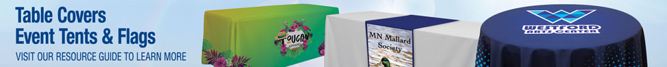 Table Covers Event Tents & Flags