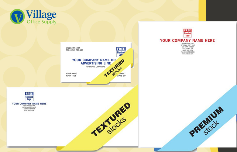 Printing and promotional products welcome to village office supply holiday and business cards letterhead envelopes reheart Images